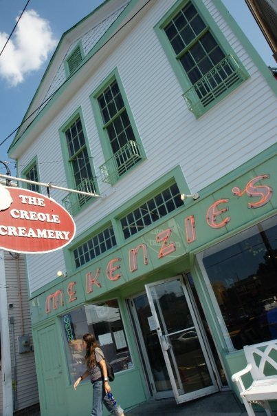 Housed in a former McKenzie's bakery, Creole Creamery has quickly become one of the most popular ice cream parlors in New Orleans.