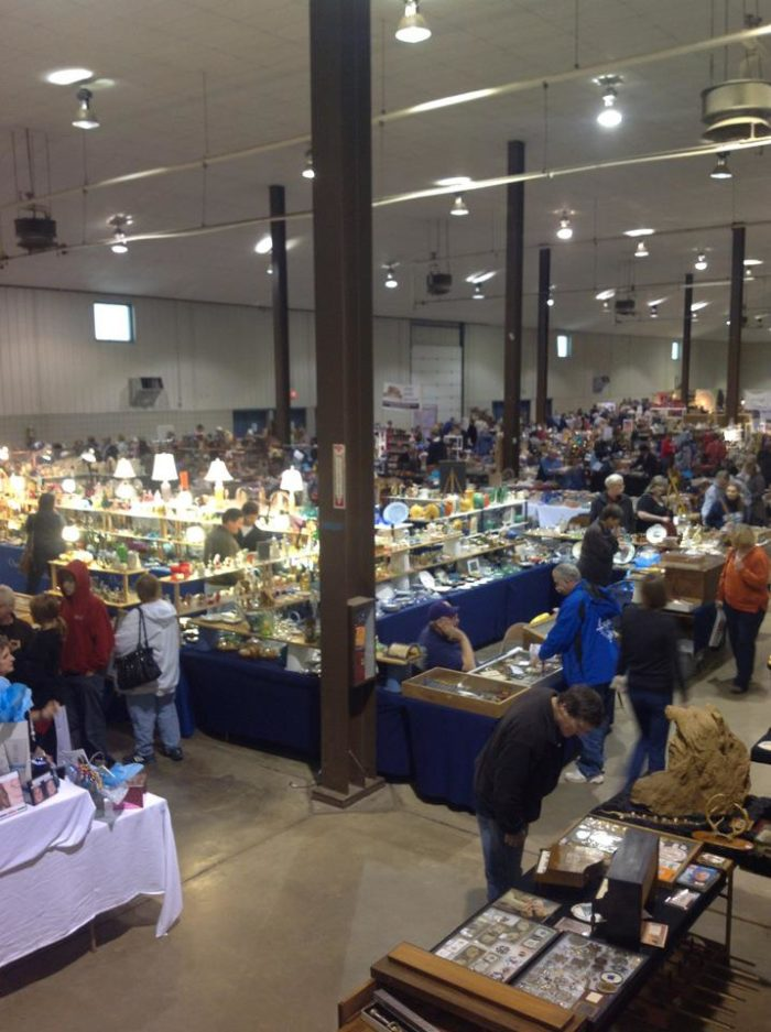 This massive space at the W.H. Lyon Fairgrounds in Sioux Falls is home to the longest running flea market in South Dakota.