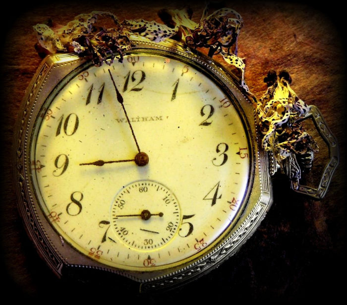 Things quickly grew worse as objects constantly flew off of shelves, their old clock would only strike 13 with the hands wildly spinning around.