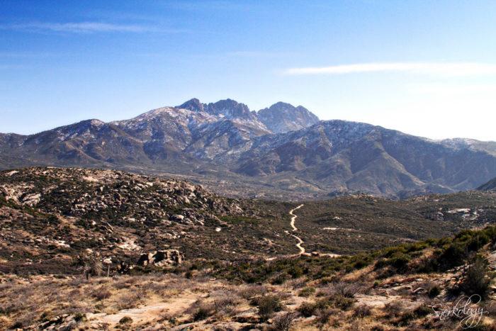 3. Brown's Peak Trail (Four Peaks)