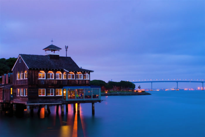 6. Waterfront Dining