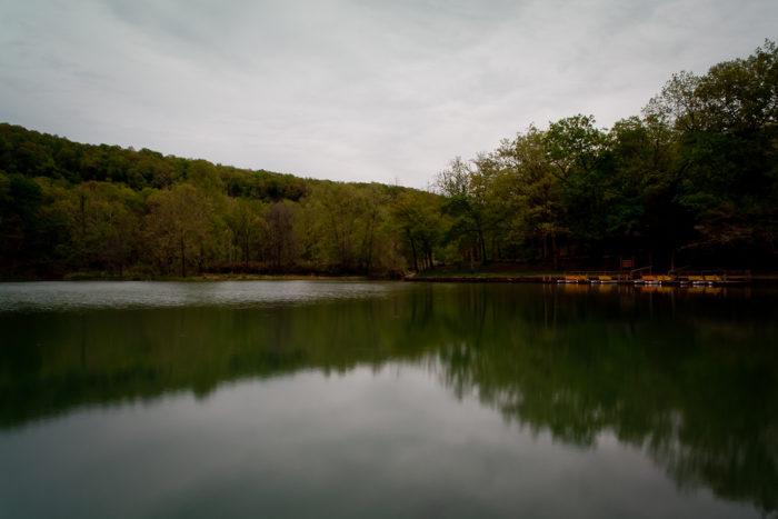 2. Lake Trail (Devil's Den State Park)