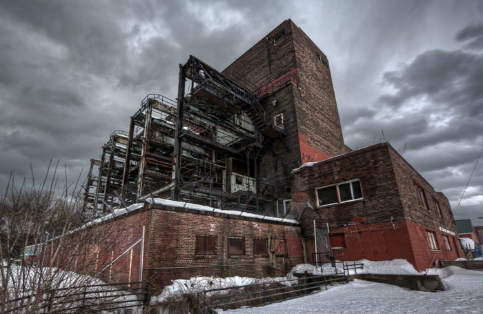 5.  Old Power Plant, Burlington