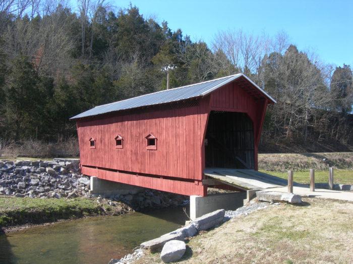 2. Bible Covered Bridge
