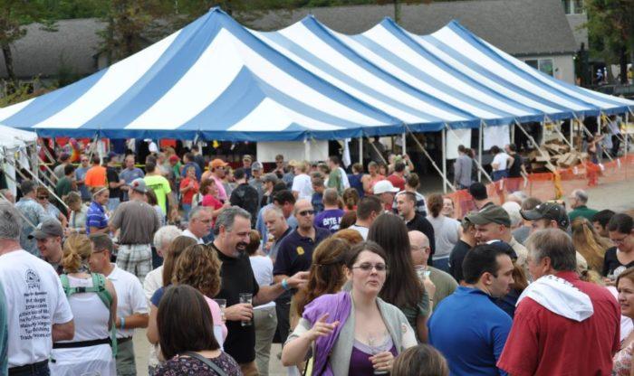 4. Maine Lakes Brew Fest, Casco -  Sep 24 to Sep 24, 2016