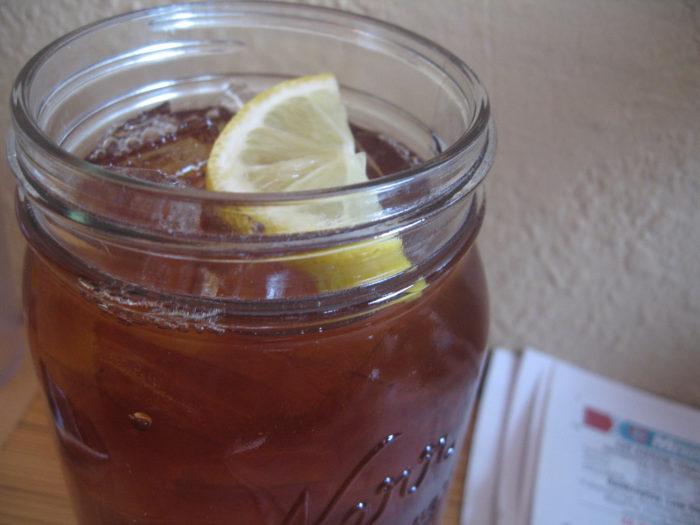 9. Run out of sweet tea.