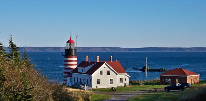 9. Quoddy Head Lighthouse, Lubec