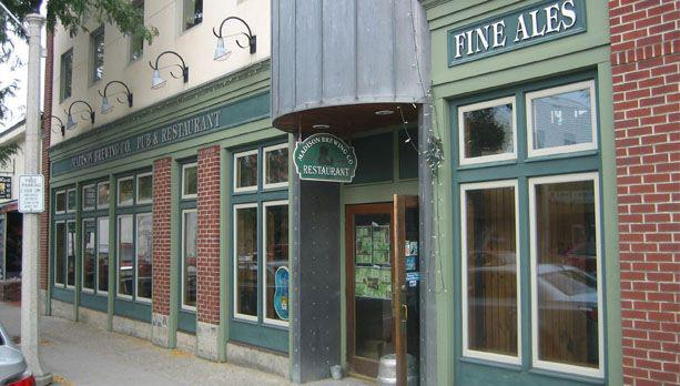 8.  Madison Brewing Company Pub & Restaurant - 428 Main Street, Bennington