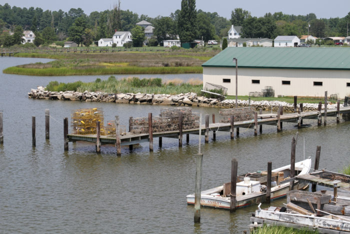 With a population around 600 residents, Deal Island is a quiet community mostly consisting of fishermen and people who love the water.