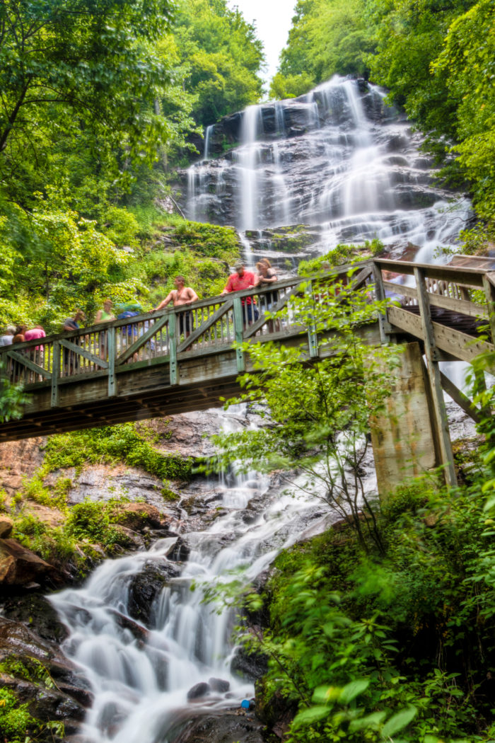 5. Feel the mist on your face at Amicalola Falls
