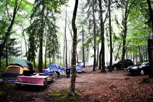 Burlingame State Park and Campground is located in the charming town of Charlestown in Washington County.