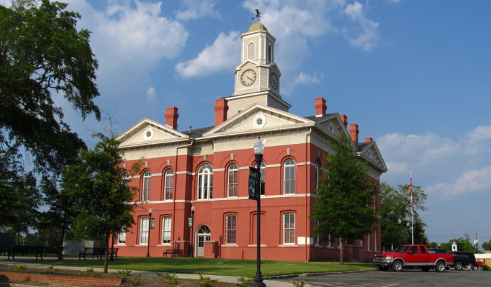 If you feel like visiting Wrightsville, Georgia, then make sure you check out the Johnson County courthouse which was built in the late 1800s, and is officially on the National Register of Historic Places.