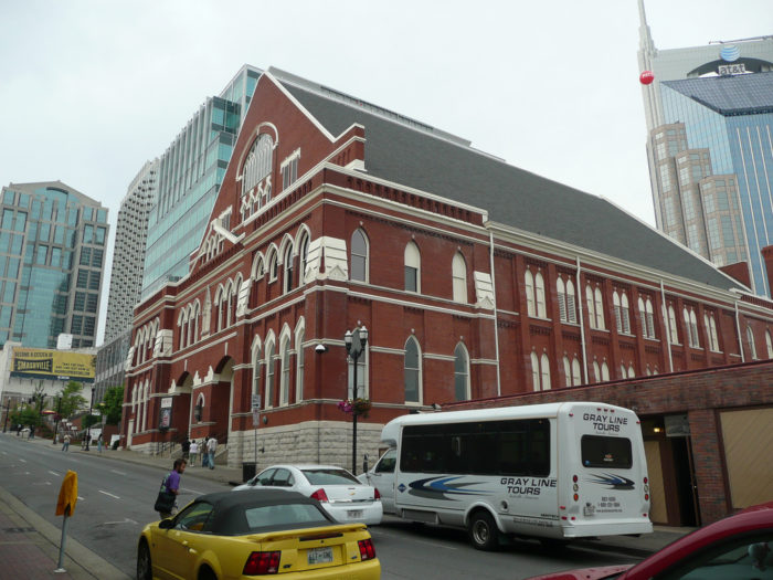 3. Visit the Mother Church of Country Music.