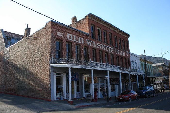 8. Old Washoe Club – Virginia City