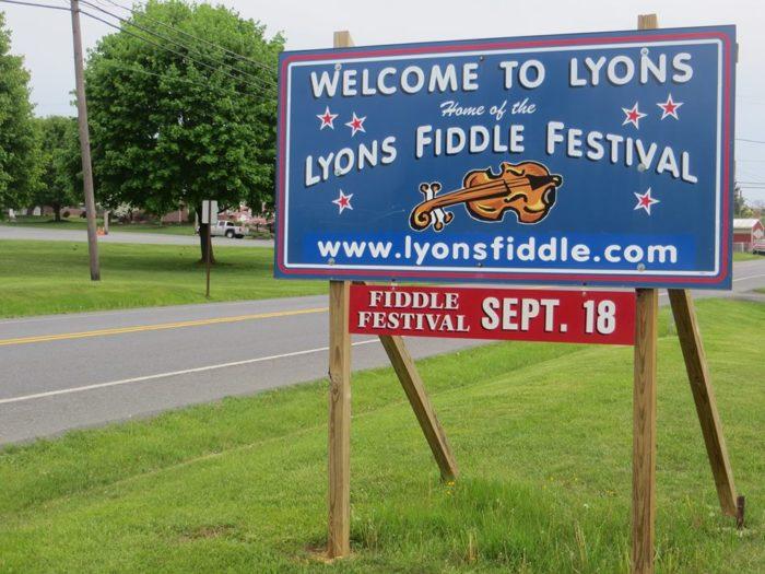 6. Lyon's Fiddle Fest – Lyons