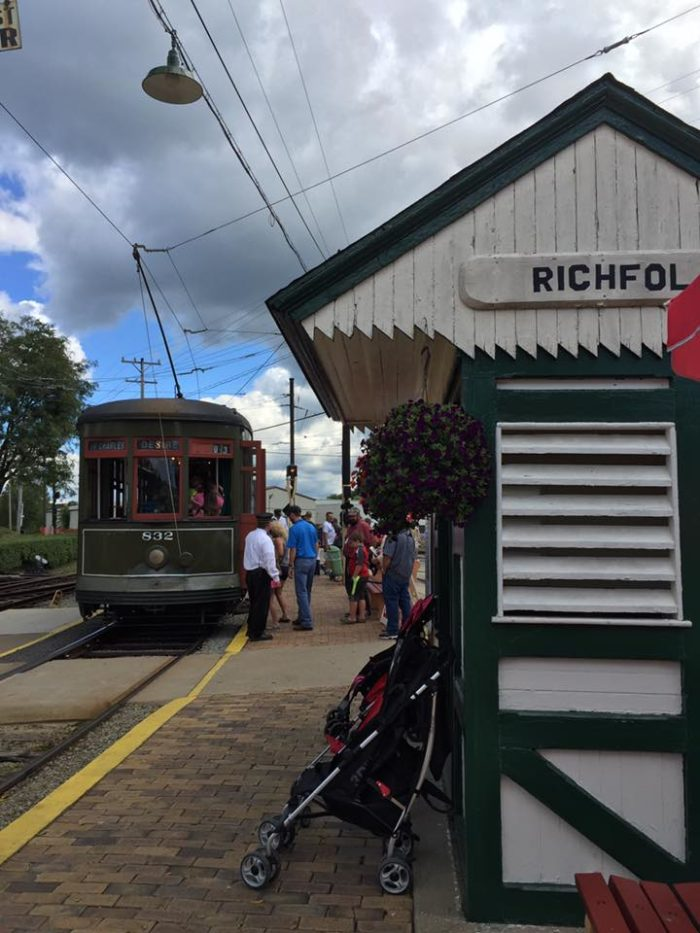 Visit the Pennsylvania Trolley Museum in Washington, an historic museum that has hosted visitors since 1954.