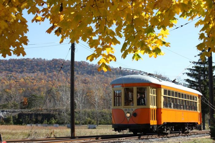 Dress up for a special Halloween trolley ride the weekends of October 22 and 23 and October 29 and 30. Kids who wear their Halloween costume ride for free with a paying adult.