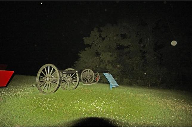 Haunted Vicksburg Ghost Tours offers after dark tours of the Vicksburg National Military Park. The guided tour includes a ton of information on the park's history and the possibility of a ghost sighting.