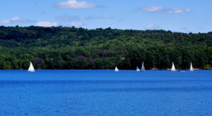 This One Destination Has The Absolute Bluest Water In Pennsylvania