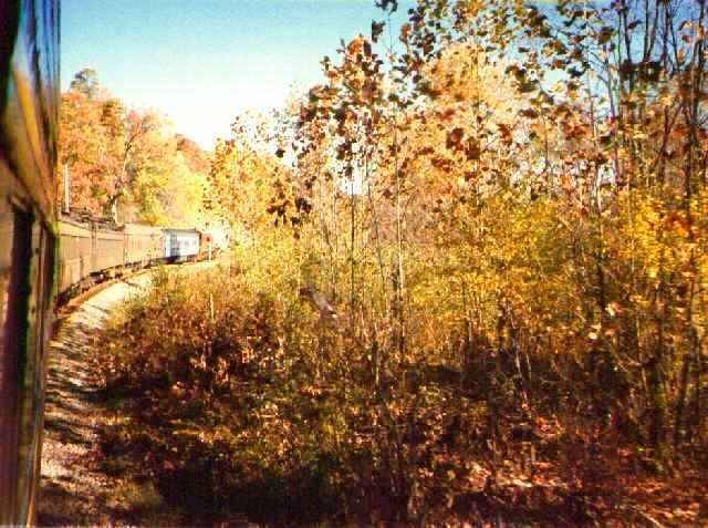 Oil Creek & Titusville Railroad's Fall Foliage excursions run throughout October from Wednesday through Sunday weekly. Trains depart from the Perry Street Station at 11 a.m. each day with added train departures at 3 p.m. on Saturdays and Sundays.