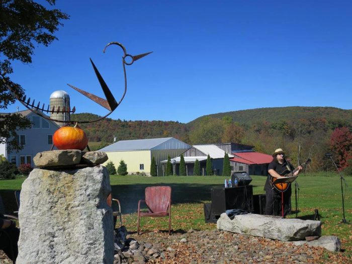 Fall provides the perfect rustic backdrop for a visit to the Hublersburg Inn.