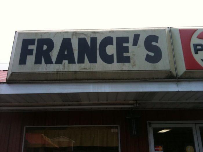 6. France's Diner, Hazard