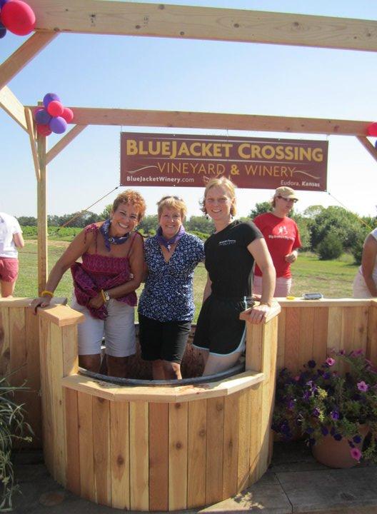5. BlueJacket Crossing Vineyard & Winery (Eudora)