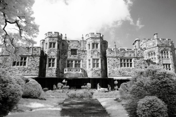 Built in 1916, this castle is now 100 years old and is just as enchanting as ever.