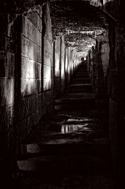 Without the presence of Fort Knox, some might drive right past Prospect. But, it's the fort itself that gives the town its haunted appeal.