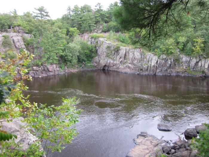 5. The St. Croix River dalles.