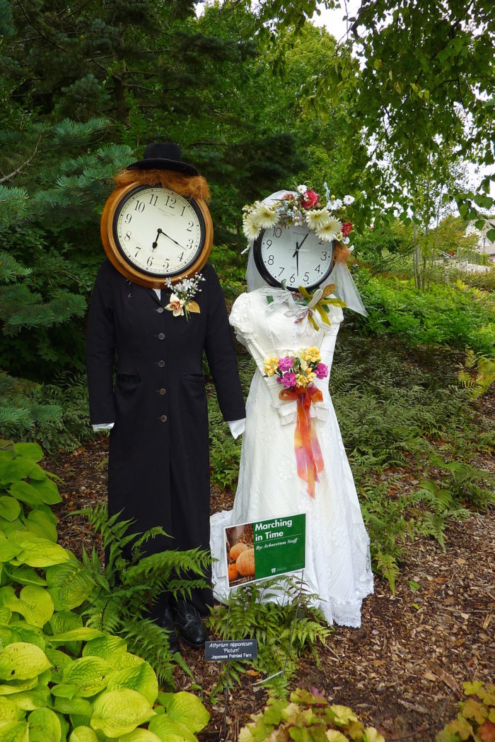 3. Scarecrows in the Gardens