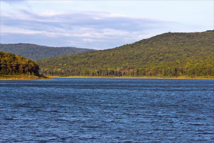 3. Warren Hollow Trail (Lake Fort Smith State Park) Taken near Mountainburg, AR.