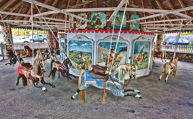 5. Flying Horse Carousel, Westerly