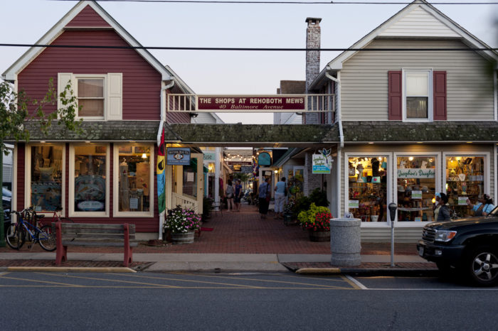 Stroll around town and check out all of the shops.