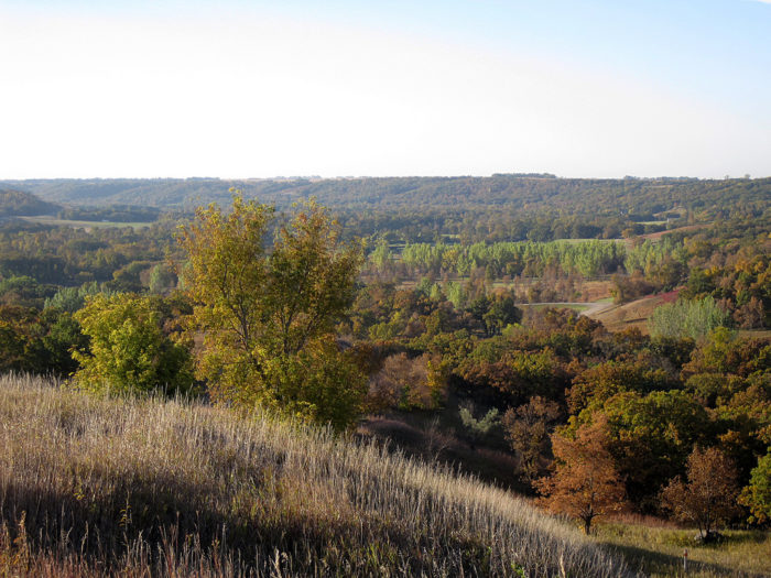 8. Explore the Sheyenne River Valley and all it holds within it - grasslands, forests, and the state's only waterfall