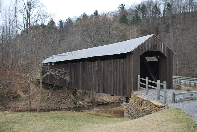 1. Locust Creek Covered Bridge