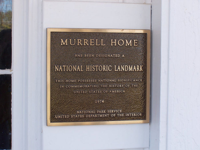 The Murrell Home Is A National Historic Landmark And Listed On Register Of Places In Oklahoma