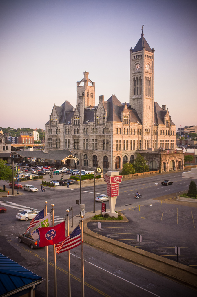 10. Al Capone stopped at Nashville's Union Station as he was taken to a penitentiary in Georgia.