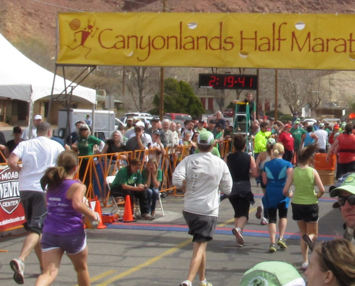 Moab hosts the Canyonlands Half Marathon every year