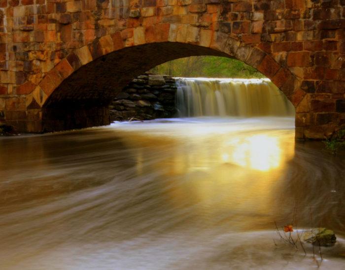 Davies Arch Bridge is a wonder.