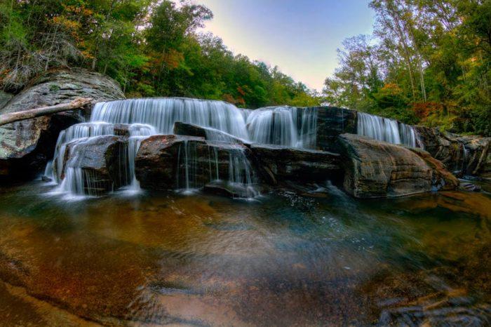 9. Riley Moore Falls -  between Westminster, SC and Long Creek, SC