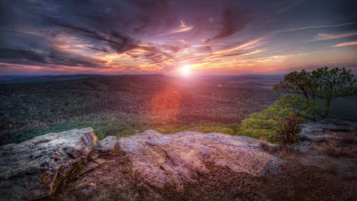 You're not going to find anywhere more enchanting than Petit Jean Mountain.