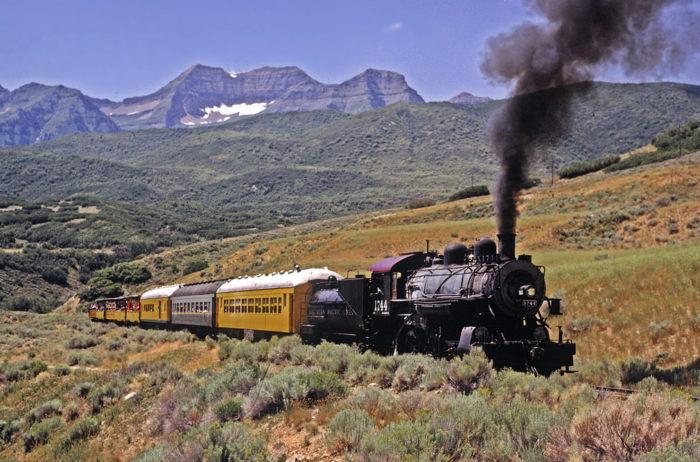 The Deer Creek Express Train runs Friday and Saturday until November 19th.