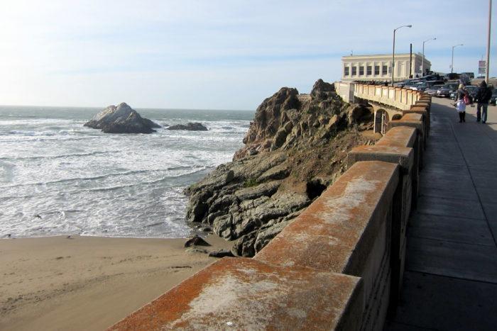 1. Cliff House: 1090 Point Lobos Avenue, San Francisco.