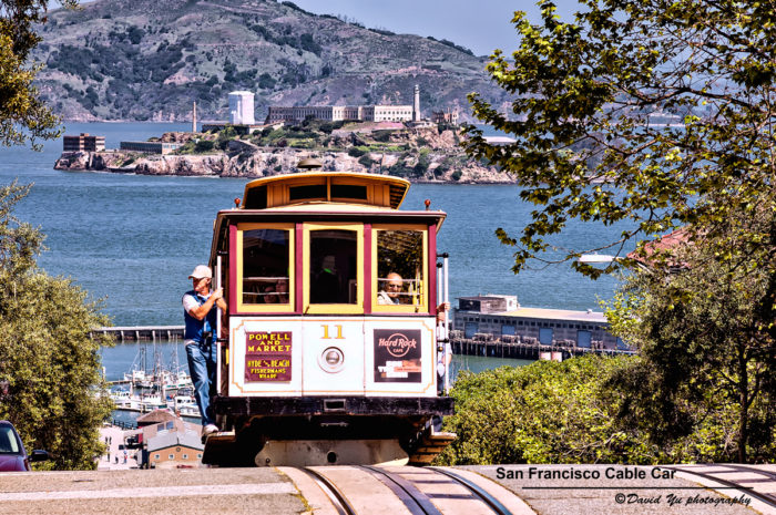 8. Mistaking a streetcar for a cable car and vice versa. Unlike the mechanical cable cars, streetcars are pushed by onboard electric motors and require a trolley pole to produce power from an overhead wire.