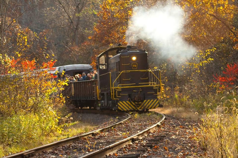 climb aboard   fall foliage train ride  pittsburgh