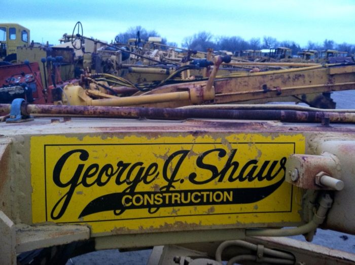 """""""There's a lot of history in a junk yard. 'George J. Shaw Construction Co. has been serving the greater Kansas City metropolitan area since 1928.' And still does,"""" states the photo caption on the company's Facebook page."""