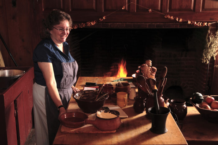 Dwight House is also where you can try your hand at traditional crafts like weaving, ceramics and woodworking.
