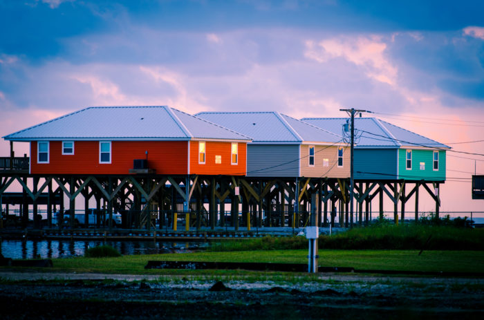 About 1200 people live in Grand Isle year round, making it a close knit community.