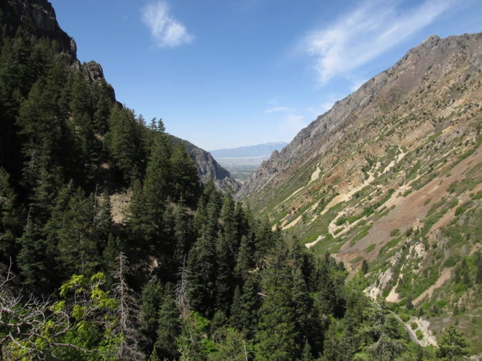 If you have the inclination, take the hike up to Timpanogos Cave. The 1.5-mile climb is steep, but the views of American Fork Canyon are well worth it.